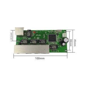 Image 2 - 5 ポートギガビットスイッチモジュールは広く led ライン 5 ポート 10/100/1000 メートル連絡ポートミニスイッチモジュール PCBA マザーボード