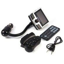 Coche Bluetooth MP3 FM Transmisor de Audio con Control Remoto Soporte Para Tarjetas SD Para Teléfono Inteligente Manos Libres Cargador Usb