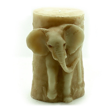3D Elephant Design silicone soap candle mold for handmade big size