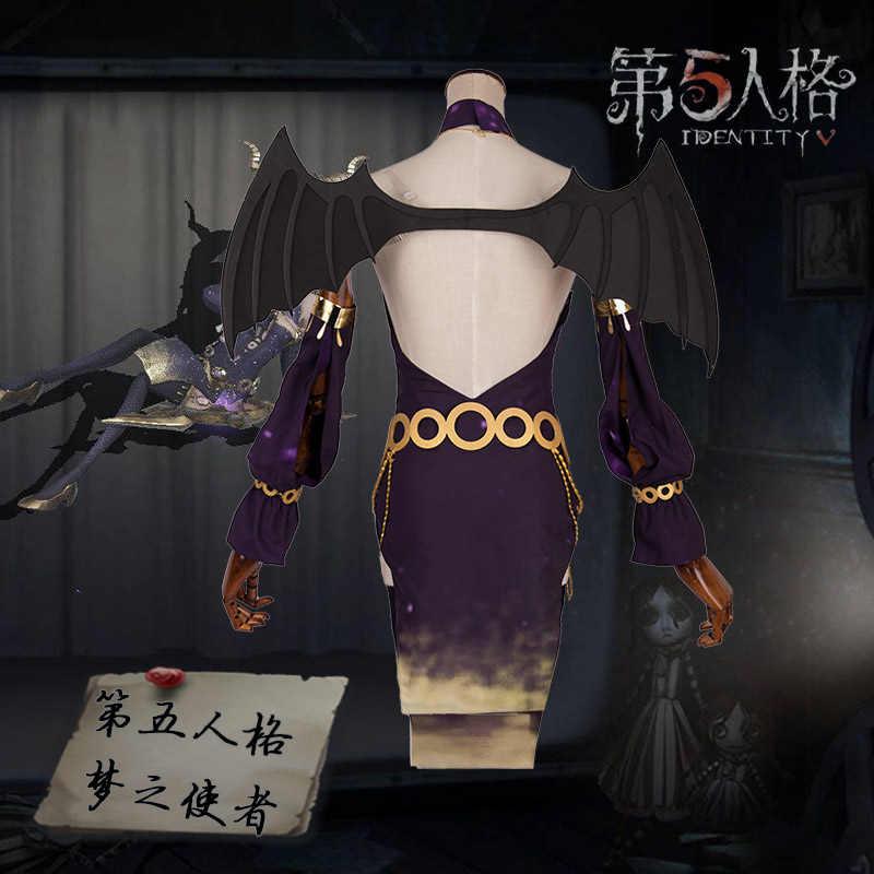 Anime! Identity V Gilman Fiona Envoys of Dreams D5 Starry Sky New Skin Sexy  Uniform Lovely Dress Cosplay Costume Free Shipping