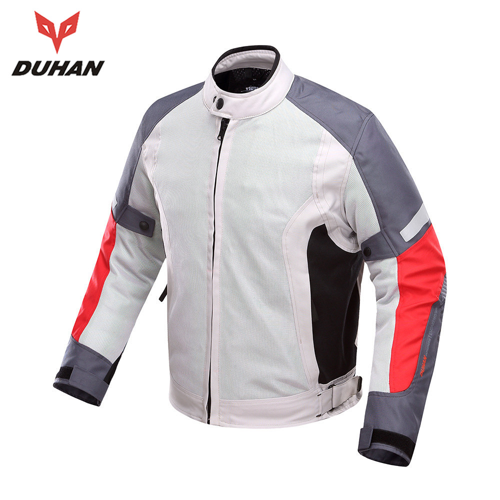 DUHAN Summer Motorcycle Protective Jacket Protector Motorcycle Motocross Breathable Jacket Motorcycle Riding Jacket top good motorcycles mesh fabric jacket summer wear breathable hard protective overalls motorcycle clothing wy f607 green