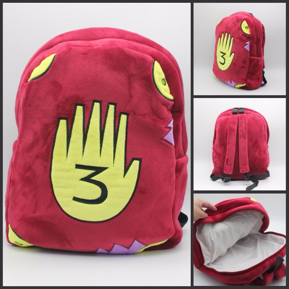 anime Gravity Falls Journal 3 cosplay plush Backpack Boys Girls School Bags  Backpack Children cartoon Shoulder bag cool gift sosw fashion anime theme death note cosplay notebook new school large writing journal 20 5cm 14 5cm