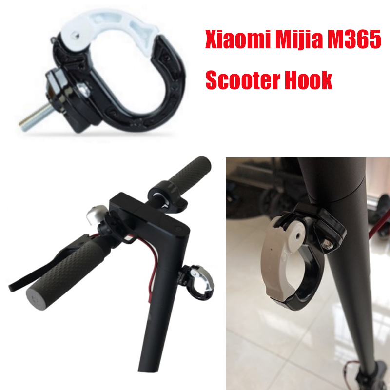 Bottle Helmet Cloth Shopping Bags Claw Hook for Xiaomi Mijia M365 Electric Scooter Skateboard Carry Bottle Luggage Cargo Hanger spirit beast motorcycle hook mineral water stent multi functional bracket electric helmet hook general beverage bottle rack