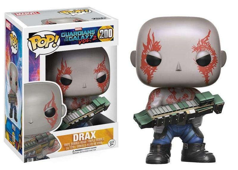 Official FUNKO POP Marvel: Guardians of the Galaxy 2 - Drax Vinyl Figure Collectible Toy with Original box