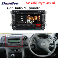 Liandlee для VolksWagen VW Amarok 2009 ~ 2012 2 дин gps Android радио Нави навигации Карты dvd плеер HD Экран OBD2 Камера ТВ