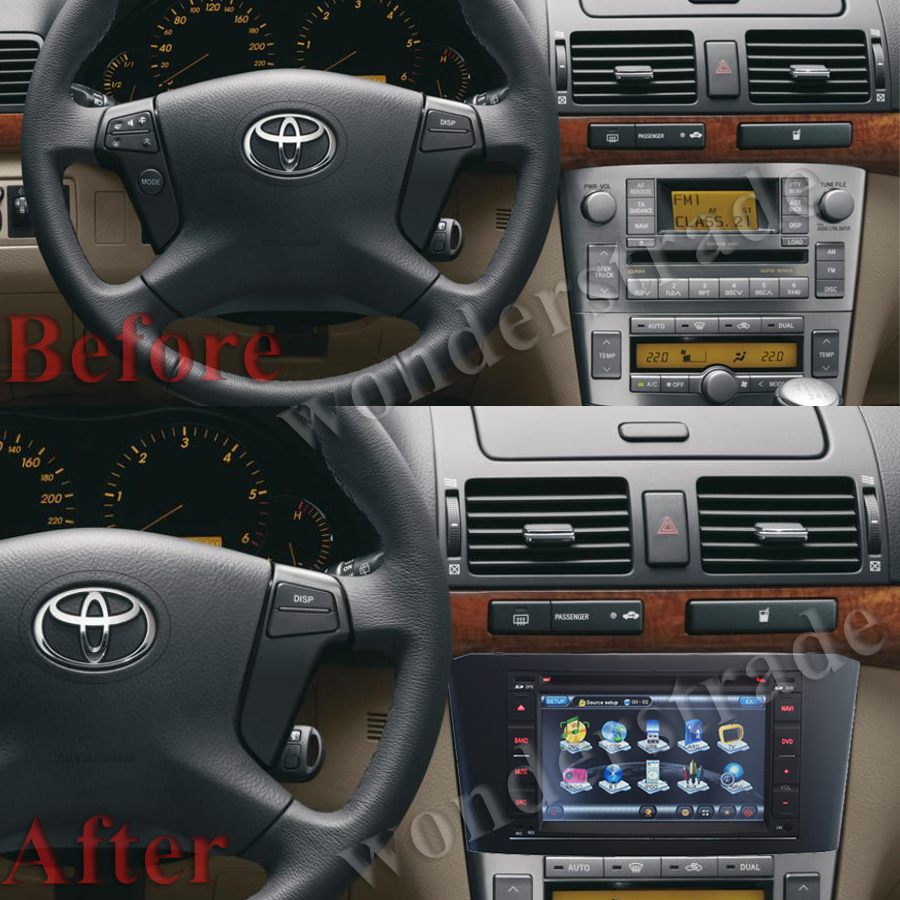 gps toyota avensis 2005 idea de imagen del coche. Black Bedroom Furniture Sets. Home Design Ideas