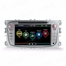 7″ Particular Automobile DVD participant for Ford Focus II 2008-2011&S-Max 2008-2011 &Kuga 2008-2012 with Constructed-in Car Commonplace DAB+ Module