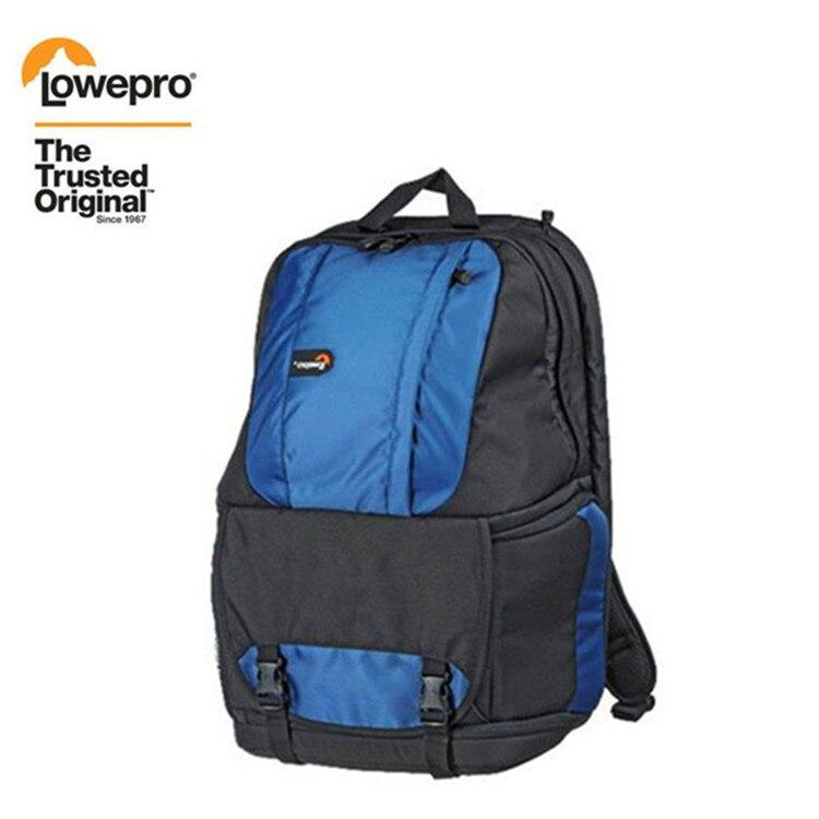 """Livraison gratuite véritable Lowepro Fastpack 350 AW Photo DSLR caméra sac numérique SLR sac à dos ordinateur portable 15.4 """"avec tous les temps Cove-in Sacs pour appareil photo from Electronique    1"""