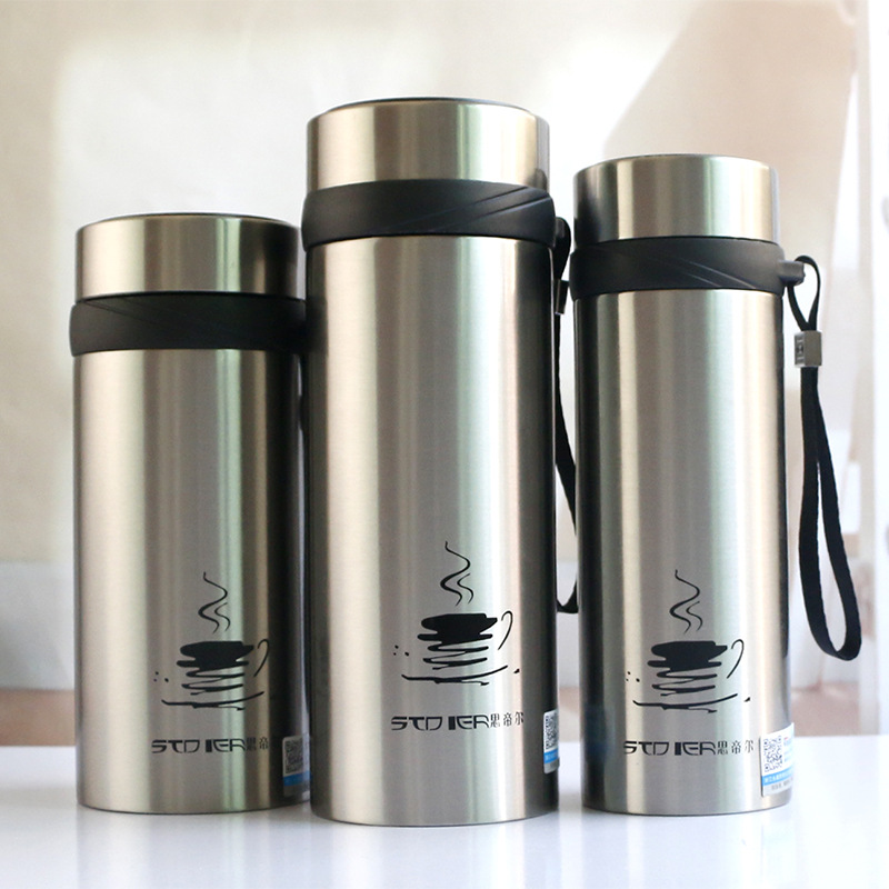 700ML With Filter Thermos Cup Double Wall Thermo Tumbler Vacuum Flask Insulated Bottle Thermal Bottle For Water Glass Tumbler