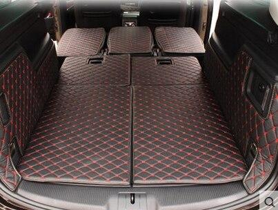 Personalizado completa coberto Especial esteiras mala do carro para Seat ALHAMBRA 2012-2017 tapetes tapetes de carga para ALHAMBRA de inicialização à prova d' água