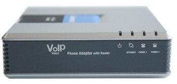 Бесплатная доставка! незаблокированные SPA9000 V2 голос Системы IP АТС voip телефонный адаптер с маршрутизатором для малого офиса с коробку