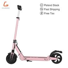 В наличии KUGOO S1 patinetas электрический скутер для взрослых 350 Вт 35 км/ч Максимальная нагрузка 120 кг для молодежной уличной поездки