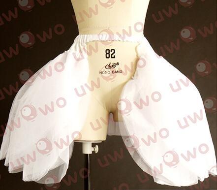 Love Live! Cosplay Love Live School Idol Project Hanayo Rin Honoka Maki White Satin Wedding Dress Series Crinoline