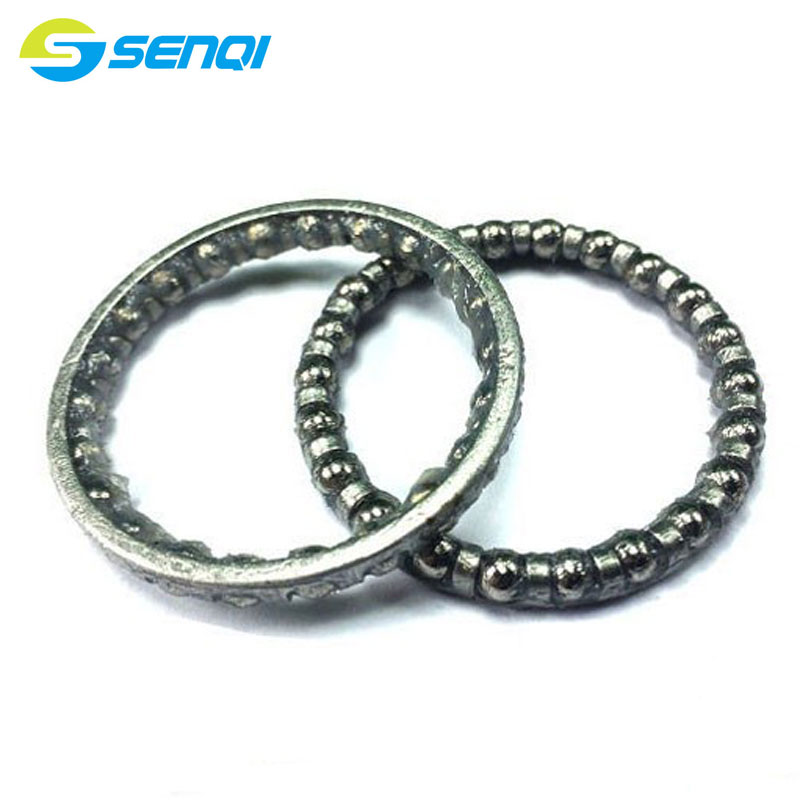 Folding <font><b>Bike</b></font> MTB Bicycle <font><b>Fork</b></font> Headset 4MM <font><b>Steel</b></font> Ball Frame Beads Pearl Nest Ball Retainers QZF002 image
