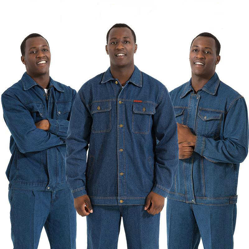 Work Clothing Man Uniform Long Sleeve Coveralls Protective Cloth for Worker Repairman Machine Auto Repair Welding DYF008