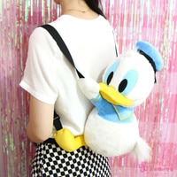 IVYYE 1PCS 52CM Donald Duck Plush Backpack Cartoon Bags Stuffed Fluffy Dolls Backpacks Kids Child Unisex New Gifts