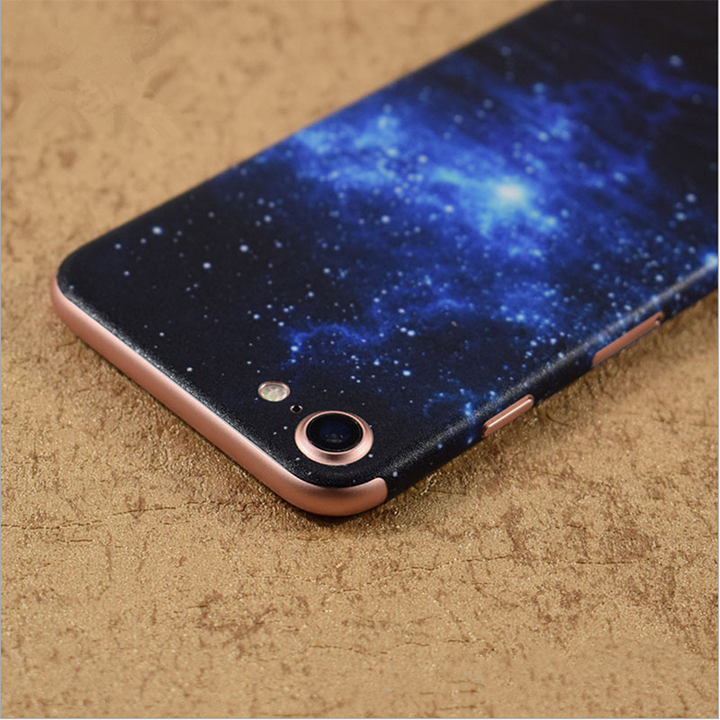 Hot personality design skins protective film wrap cellphone back paste protective sticker for iphone 6 6s 6plus 6splus 7 7plus in fitted cases from