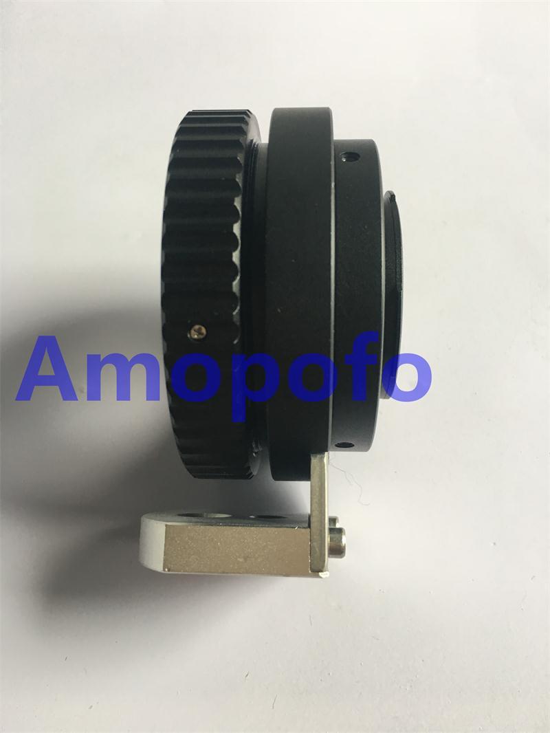 Amopofo B4-M4 / 3 Adaptador para Canon Fujinon Lente de 2/3