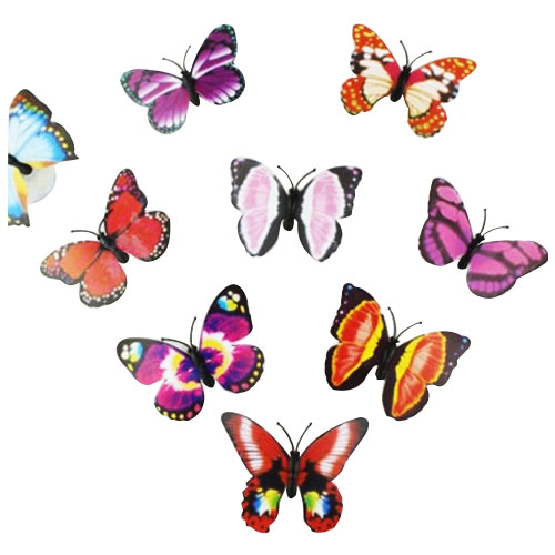 1Pcs 7 Color Changing Beautiful Cute Butterfly LED Night Light Lamp
