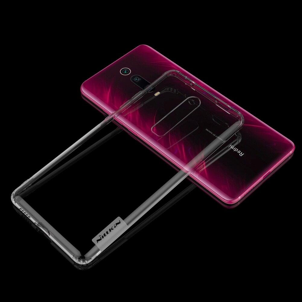 HTB15WVUeUuF3KVjSZK9q6zVtXXas TPU Case for Xiaomi Mi 9T Pro Casing Nillkin Nature Transparent Clear Soft Silicon Soft Cover for Xiaomi Mi 9T Pro Case
