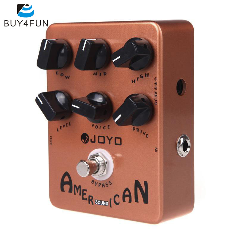 JOYO JF 14 American Sound Guitar Amp Simulator Effect Pedal