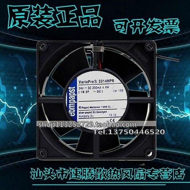 3314HPR 9032 9CM 24V 4.8W 9CM wind capacity fan drive original brand new 3612kl 05w b50 9032 24v 0 32a 9cm two wire inverter fan