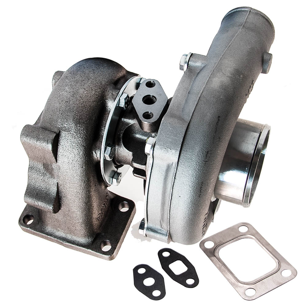 T3/T4 T04E STAGEIII TURBO +OIL FEED+OIL RETURN FOR CIVIC CRX 88 D16 D16 Y7 D16Y FOR FORD DODGE TURBOCHARGER TURBO 1998 1999 - 6