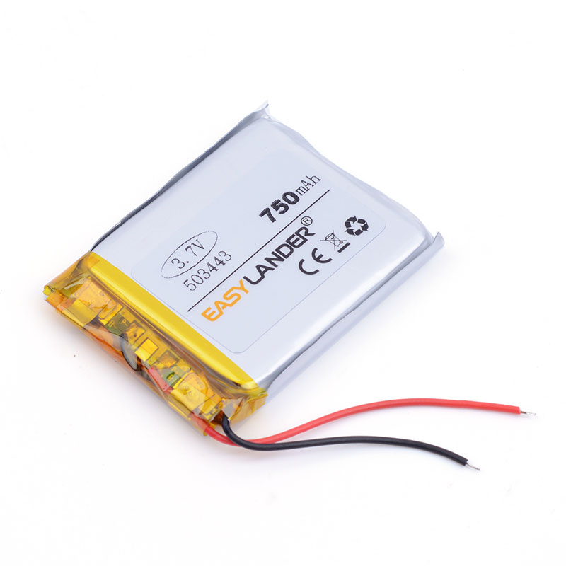 503443 3.7V <font><b>750</b></font> <font><b>mah</b></font> Lithium polymer <font><b>Battery</b></font> With Protection Board For GPS Tablet PC Digital Products E-book Bluetooth Speak