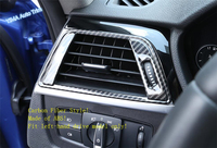 Lapetus Dashboard Side Air Condition AC Outlet Vent Cover Trim For BMW 3 4 Series f30 f32 320li 2013 2018 Carbon Fiber Style