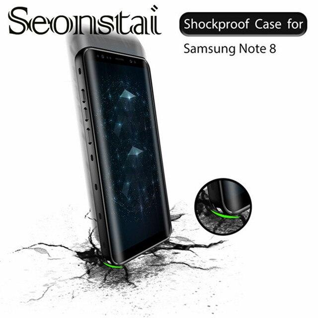 Seonstai For Samsung Galaxy Note 8 Case IP68 Underwater Waterproof Phone  Cases Capa Dirt/Dust