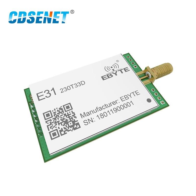 AX5243 230 МГц 2 Вт радиочастотный модуль с большим диапазоном 8000 м UART интерфейс CDSENET E31-230T33D IOT беспроводной приемопередатчик радиочастотный прие...