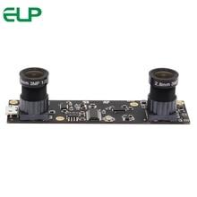 """ELP 2MP 1/3 """"Aptina AR0330 CMOS UVC OTG câmera de visão binocular stereo módulo para AR de Realidade Aumentada"""