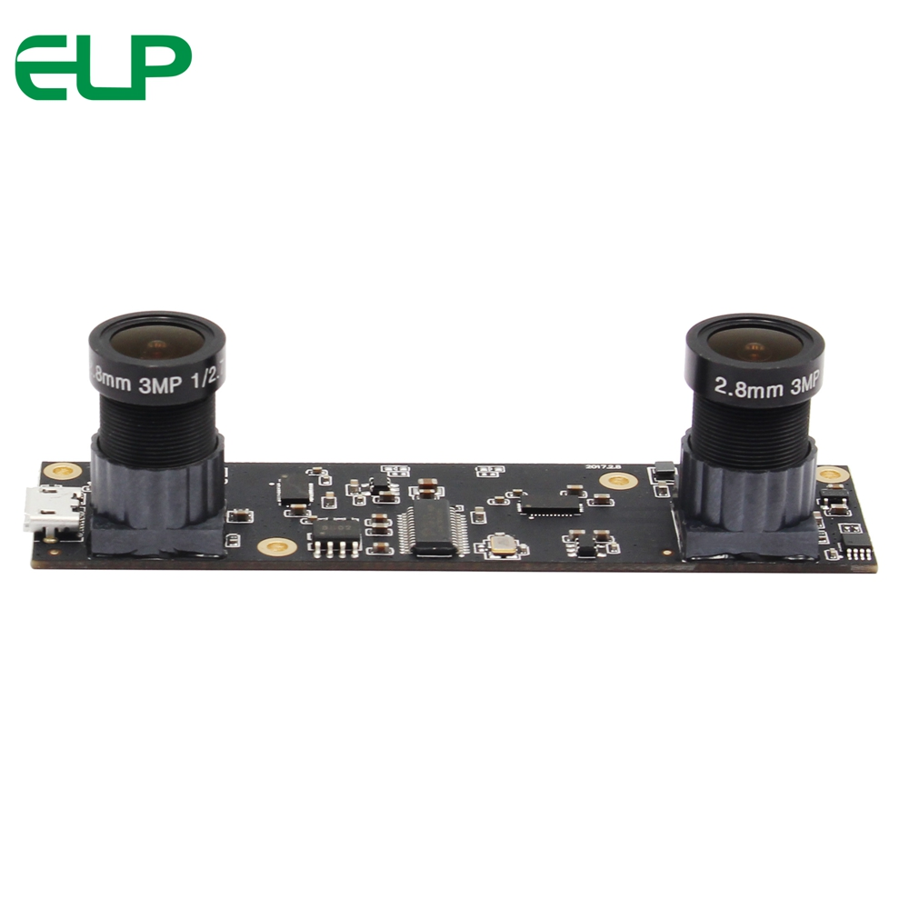 PEL 2MP 1/3 Aptina AR0330 CMOS UVC OTG binoculaire stéréo vision caméra module pour AR La Réalité Augmentée