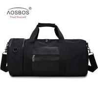 Aosbos Waterproof Sport Bag Professional Training Gym Bag Men Woman Fitness Bags Nylon Durable Multifunction Traveling