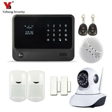 YobangSecurity 433Mhz APP Control Home Protection Touch Keypad WIFI GSM GPRS Security Alarm System with Camera