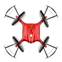 Quadrocopter RC Airplane Drone Racer Remote Control Mini Small Size Pocket Drone Without Camera