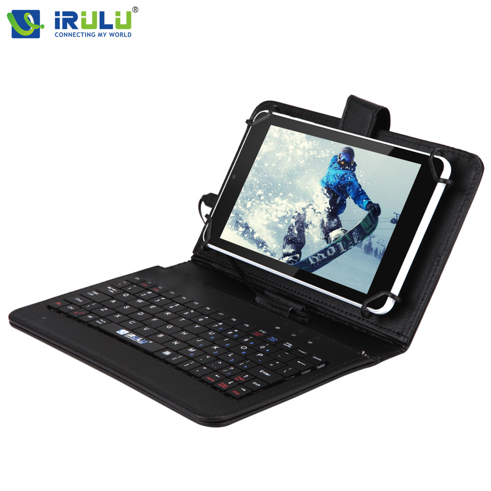 Original iRULU eXpro X4 7'' Tablet 1280*800 IPS Android 5.1 Quad Core 1G /16G Dual Cameras Bluetooth WiFi 4000mAh w/EN Keyboard
