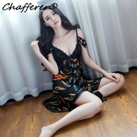 Chafferer 2017 New Women S Lace Gauze Sexy Lingerie Backless Feathers Fashion Casual Uniforms Underwear Hang