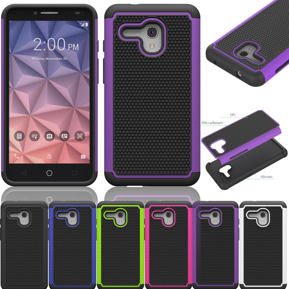 newest f1301 a1650 US $2.84 5% OFF|Dual Layer Rugged Heavy Duty Silicone Case For Alcatel  OneTouch Fierce XL / Flint 4G 5054 5054N Hard Impact Shockproof Case  Cove-in ...