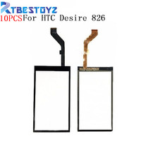 10PCS/Lot 5.5'' Touch Panel Touchscreen For HTC Desire 826 D826 Touch Screen Digitizer Front Glass Sensor Replacement Parts