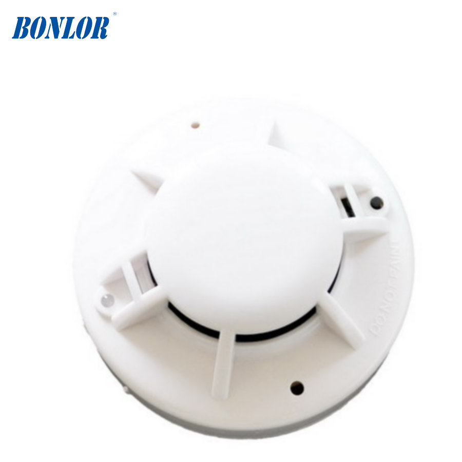 BONLOR wired smoke and heat combined detector sensor use for fire control smoke and heat in one detector цена