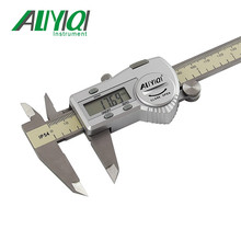 Big discount 0-300mm LCD display Waterproof IP54 Digtial vernier caliper stainless steel Paquimetro