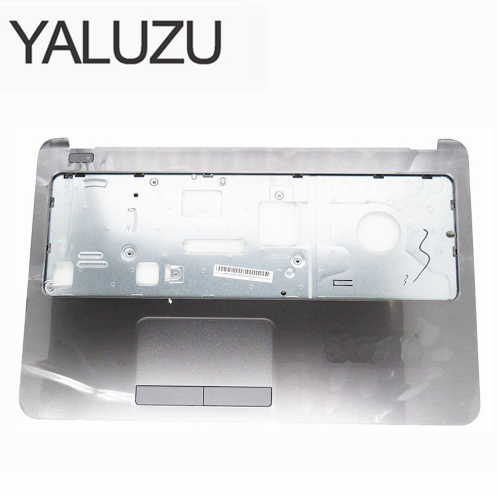 YALUZU For HP 255 G3 250 15-G074NR 15-H005LA 15T-R000 15Z-G000 245 N2815 256 Palmrest cover C shell Gray C case with Touchpad new laptop top lcd back cover for hp 15 g 15 r 15 t 15 h 15 z 15 250 15 r221tx 15 g001xx 15 g010dx 250 g3 255 g3 15 g074nr n2815