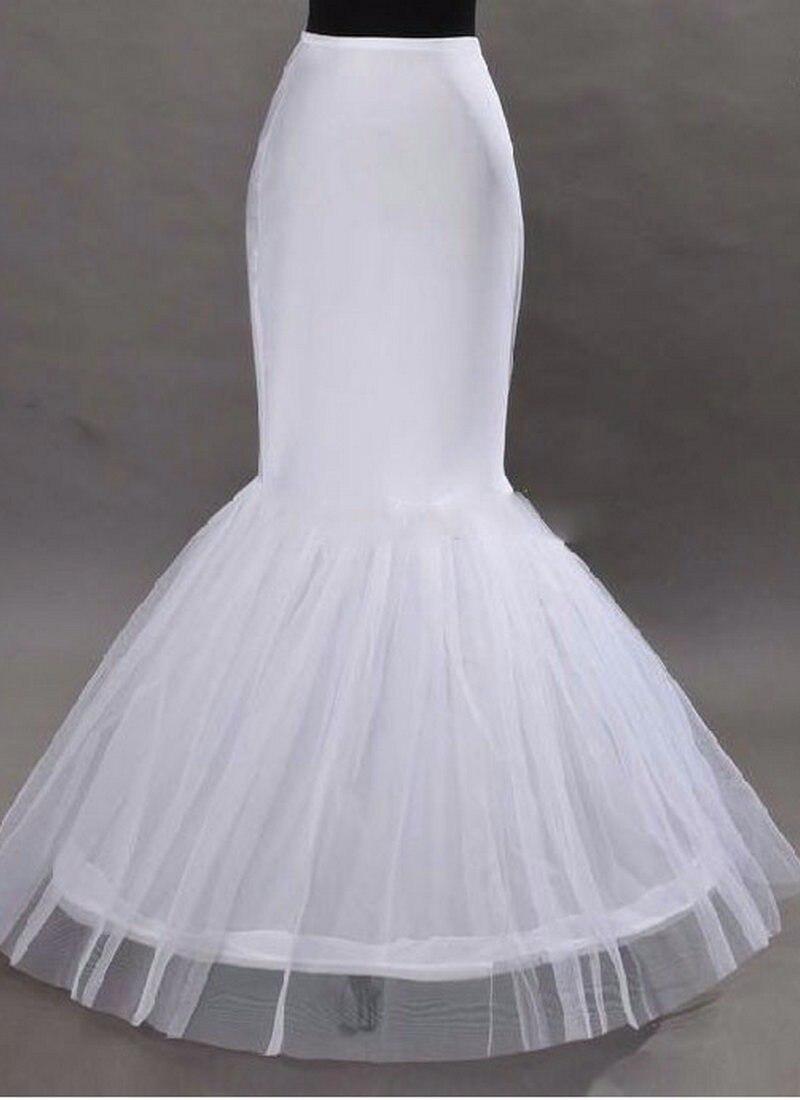 Großhandel Mermaid Petticoat 1 Hoop Knochen Elastische ...