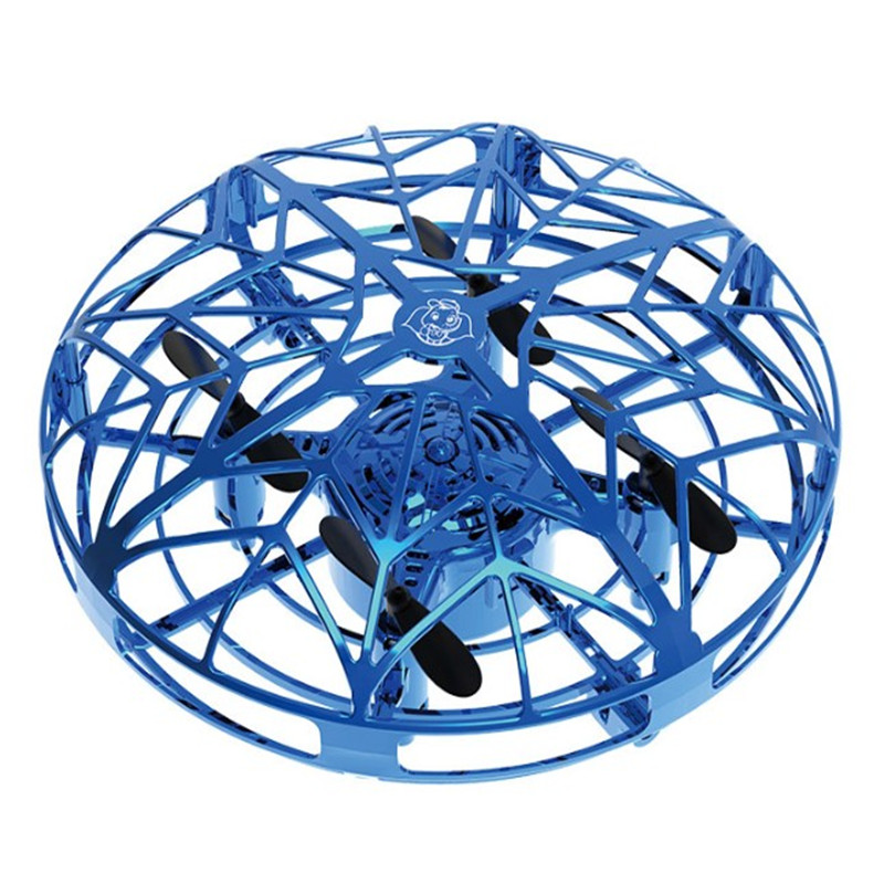 Flying Helicopter Mini Drone UFO RC Drone Infraed Induction Aircraft Quadcopter Upgrade Hot High Quality RC Toys For Kids