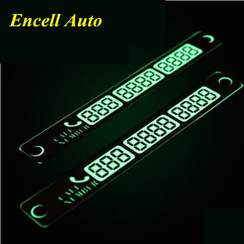 Luminous Car Styling Phone Number Card For BMW F31 F34 F32 E52 E53 E60 E90 E91 E92 E93 F30 F20 F10 F15 F13 M3 M5 M6 X1 X3 X5 X6 image