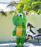 Yeni dinozor yeşil yoshi maskot kostüm fantezi parti dress suit karnaval kostüm fursuit İş özel maskot