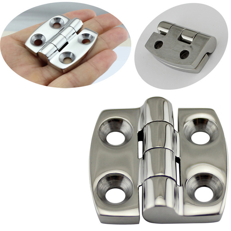 Image 5 - Stainless Steel Marine Hardware Door Butt Hinge Silver Cabinet Drawer Box Hinge Boat Accessories Marine-in Marine Hardware from Automobiles & Motorcycles