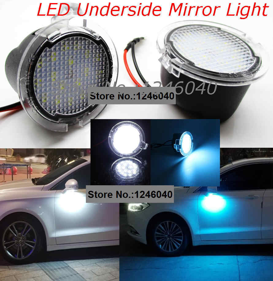 Led Under Side Mirror Puddle Light Lamp For Ford Edge