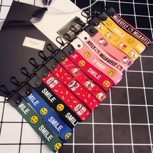 Ribbon Keychain For Phone Case Wallet Key chain llavero Key Rings Chaveiro sleutelhanger Porte clef 2018 NEW(China)